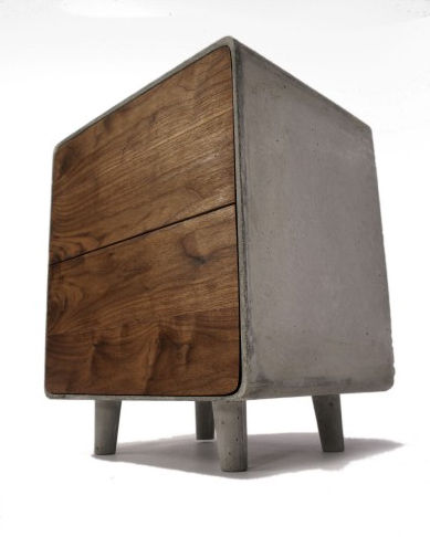 "A highlight of IDS was the exhibit ""Prototype: New Ideas for the Home."" It presented works not currently in production by independent designers, who address the theme of innovative consumer products intended for mass production. In ""Concrete Cabinet"" (sho"