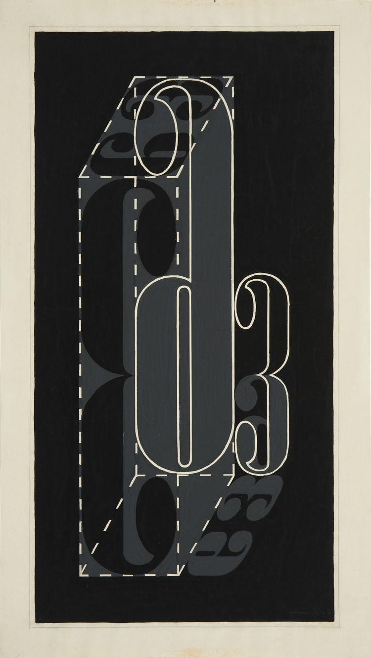 """6 and 3,"" 1931. Image courtesy Hirshhorn Museum and Sculpture."