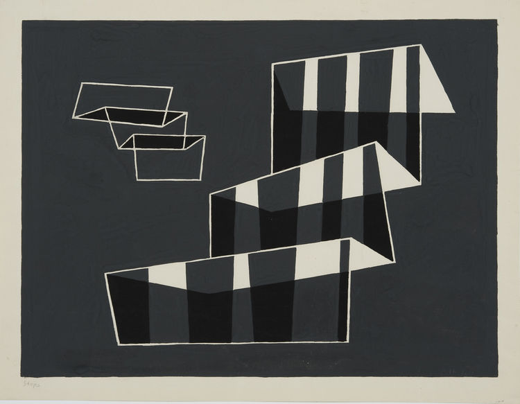 """Steps,"" 1932. Image courtesy Hirshhorn Museum and Sculpture."