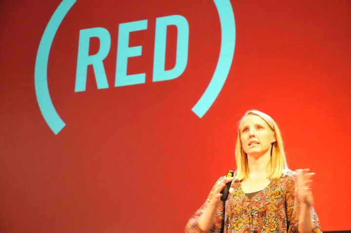 Julie Cordua of (Red) discusses the power of corporate partnerships to advance worthy causes. Photo courtesy Compostmodern.