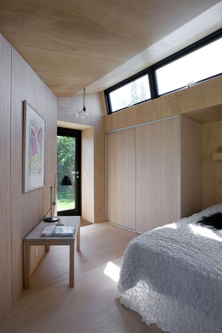 View of the interior looking toward the door.