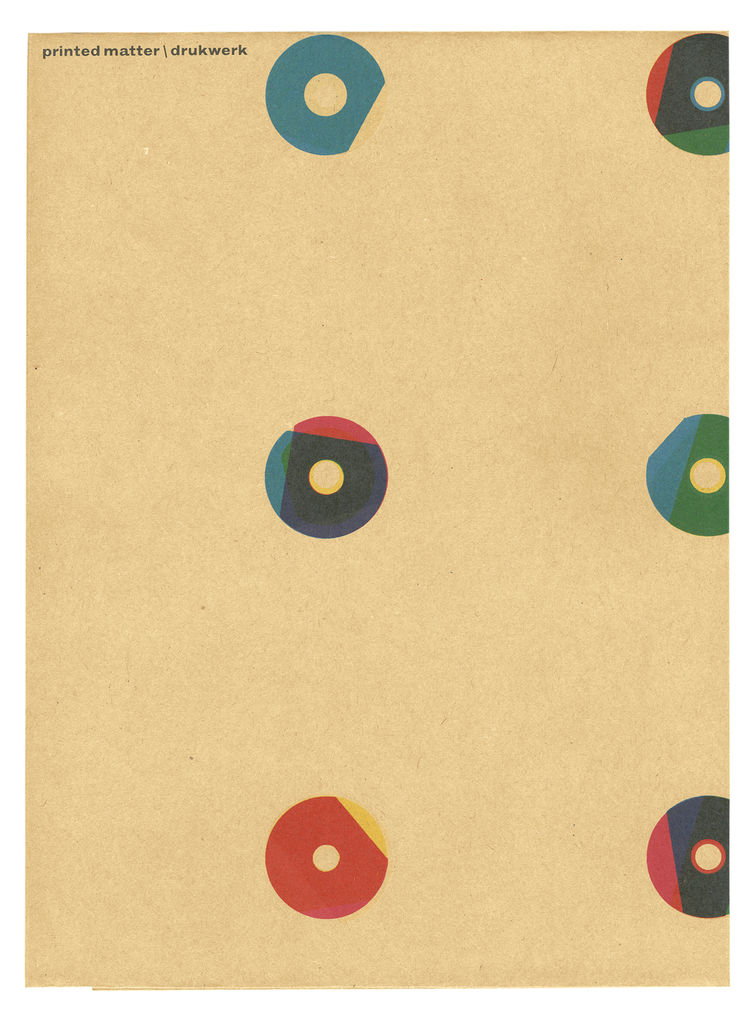 The cover of Martens's award-winning monograph, Printed Matter.