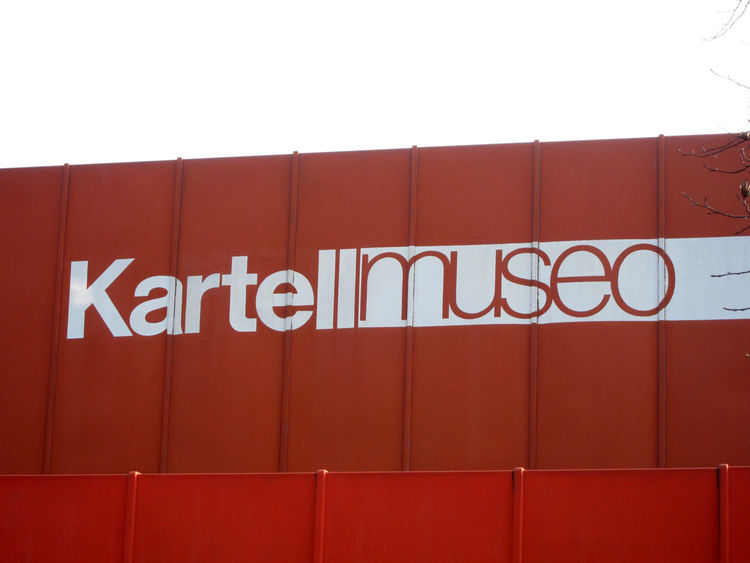 The Kartell museum is located in Noviglio, just outside Milan.