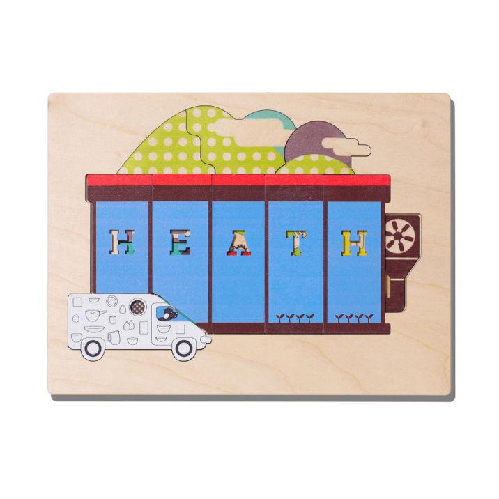 "Birch plywood Factory puzzle by <a href=""http://www.heathceramics.com/go/heath/homeware/store/index.cfm?catID=54#shop"">Heath Ceramics</a>, $18.00."
