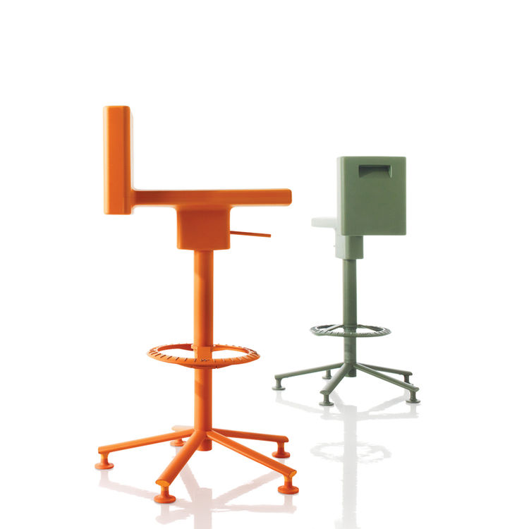The 360 degree Chair and Stool for Magis, 2009.