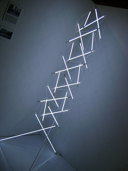 "<a href=""http://www.mmbartosik.com/"">Michal Bartosik</a>'s seven-foot-tall floor light sculpture—which is nearing production—is expected to retail for $1500."