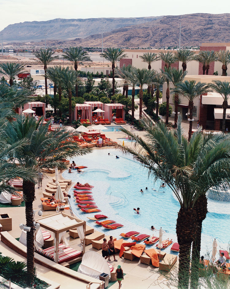 """Red Rock Resort and Casino is a haven away from the chaos of the Strip—and a welcome alternative to a certain other hotel off the Strip, popular with callow youth, that Fogel calls """"The Loserdome."""""""