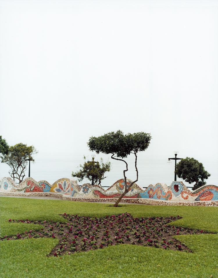 Public squares and parks loom large in the lives of Peruvians, and the heavily mosaiced Parque del Amor in the Miraflores neighborhood is no exception.