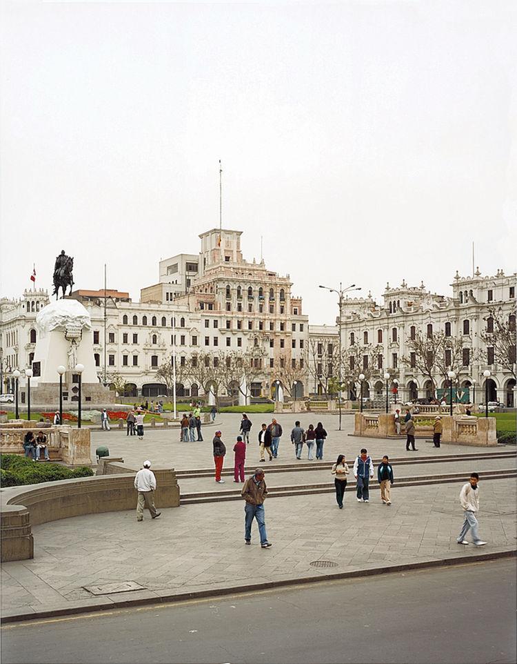 The Plaza San Martin.