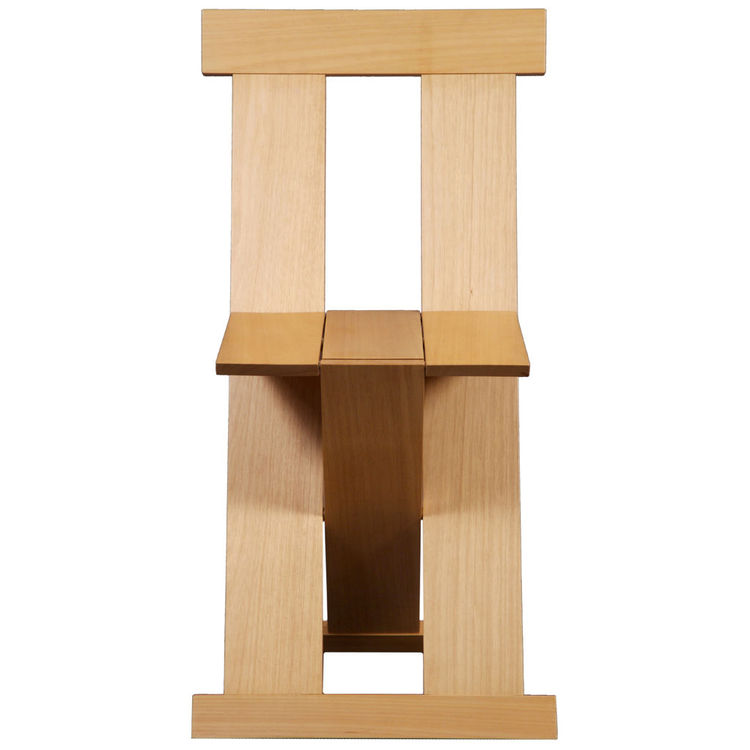 """The folding <a href=""""http://www.1stdibs.com/furniture_item_detail.php?id=344351 """">Frei Egídio chair</a>, which Bo Bardi designed with the architects Marcelo Ferraz and Marcelo Suzuki, was modeled after the lines of a 15th-century Franciscan chair. Shown i"""