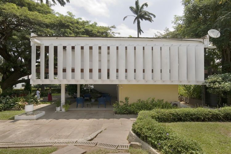 Architect's private residence, Accra. Architect: Kenneth Scott Associates, 1961.