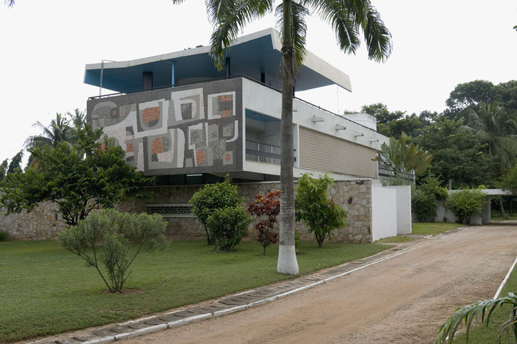 Private residence, Accra. Architect: Nickson and Borys, 1962-66.