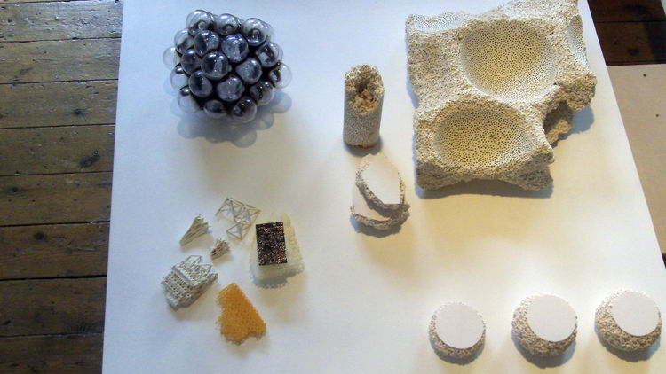 Formal and material experiments, one of which was used to make a ceramic material both stronger and lighter.