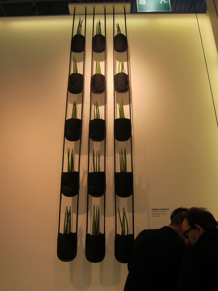 Nadeau also created these sleek hanging planters.