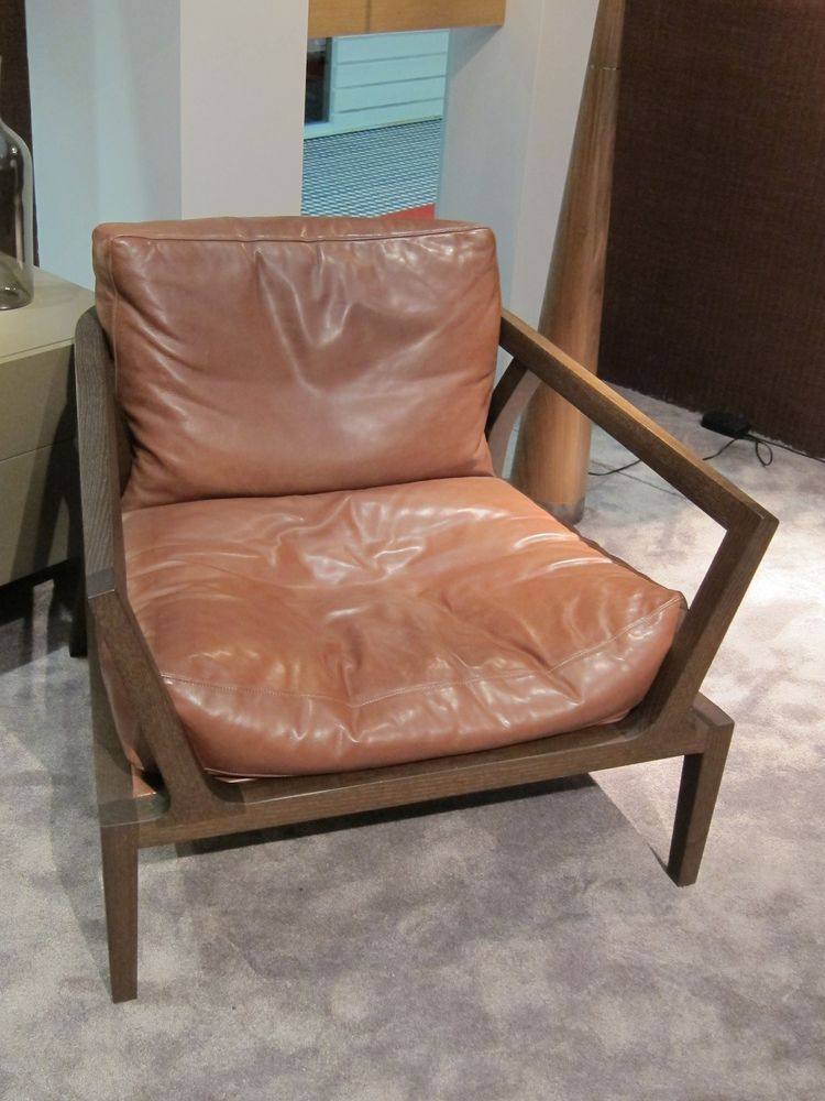 I also enjoyed the Lounge armchair, made from ash wood and a really buttery leather.