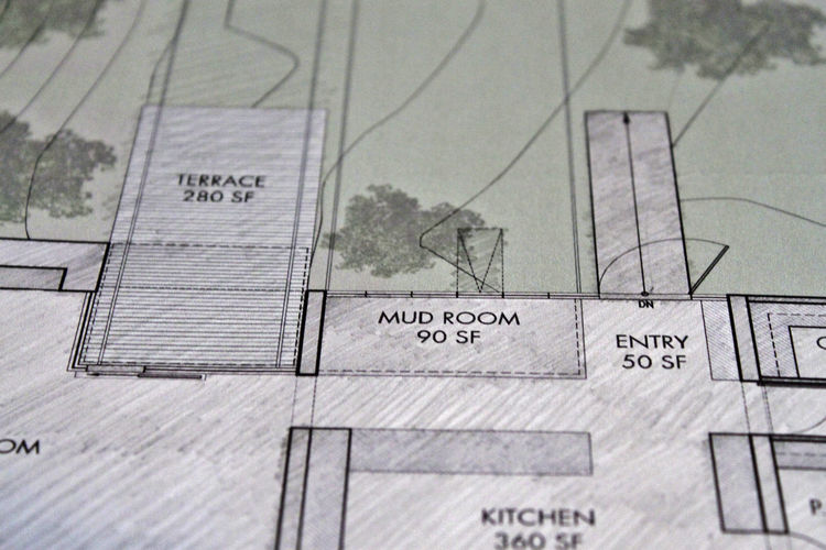 Early on we discussed proportion and actual square footage. We had provided measurements from ourprevious residence in the suburbs, along with suggested square footage allotments for our new home. Tom and Edward took those measurements into consideration