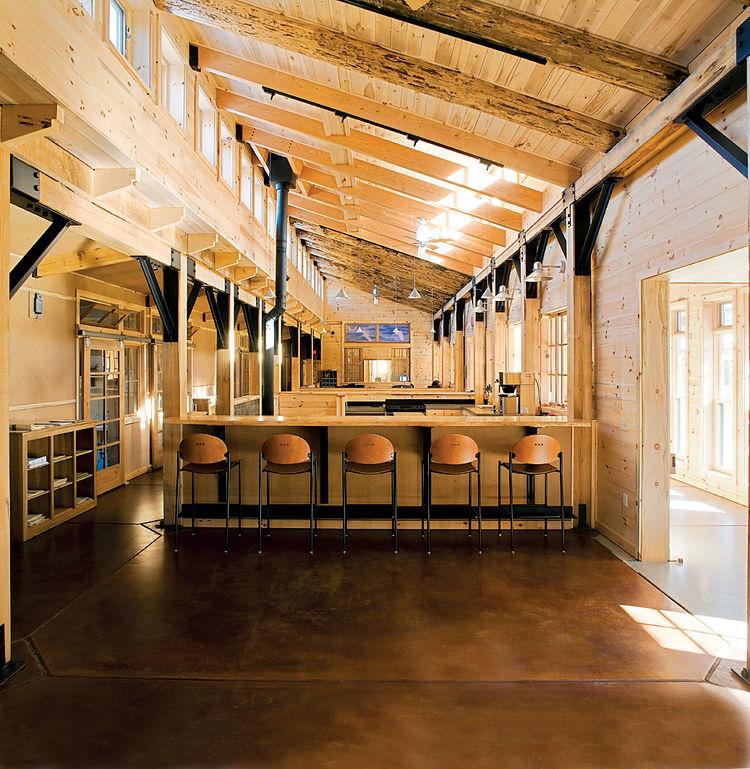 Architecture 2030–compliant: Kubala Wash-atko Architects' Aldo Leopold Legacy Center. Photograph by Mark F. Heffron/the Kubala Washatka Architects, Inc.