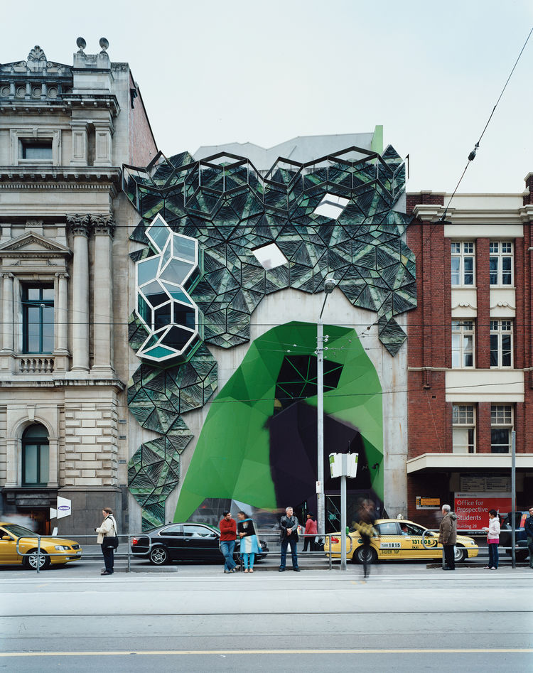 """""""For me, Storey Hall was the start of a new Melbourne,"""" says Bennetts of the building on the RMIT campus by architects Ashton Raggatt McDougall. """"It broke ground [in the mid-'90s], and confident, rigorous expression has flourished ever since."""""""