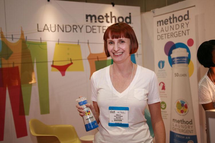 Sally Clarke, method's design director.
