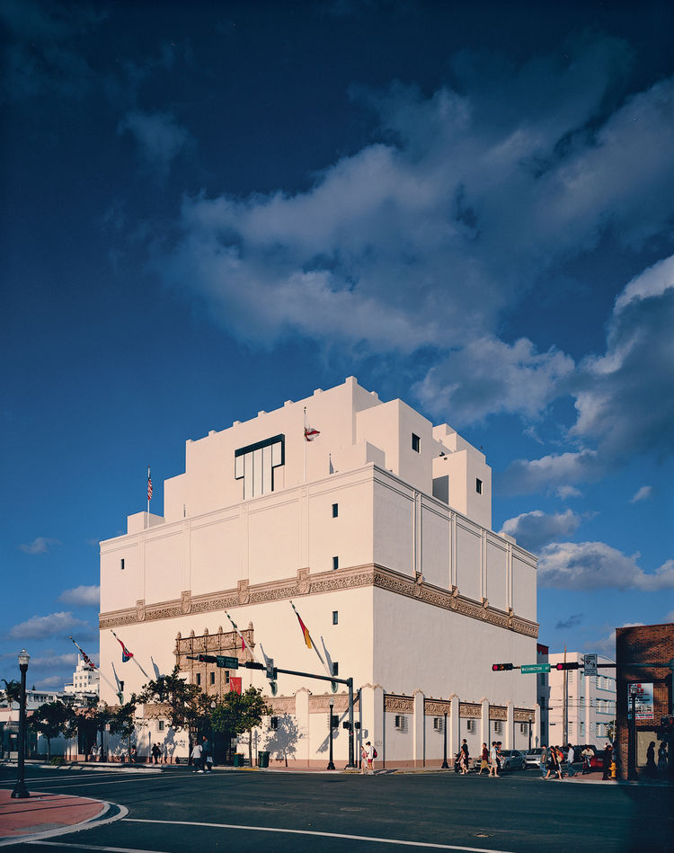 The Wolfsonian Museum in Miami Beach was founded in 1986 to display Mitchell Wolfson Jr.'s huge collection of decorative and propaganda arts—including furniture, paintings, prints, books, and other decorative and industrial objects. In 1997 it became part