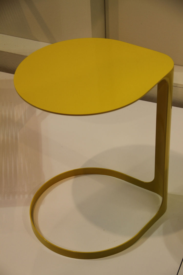 "The Corchea table, by Argentinian designer <a href=""http://www.federicochurba.com.ar/"">Federico Churba</a>, is a pleasing interpretation of a side table. Available in three sizes and two colors."