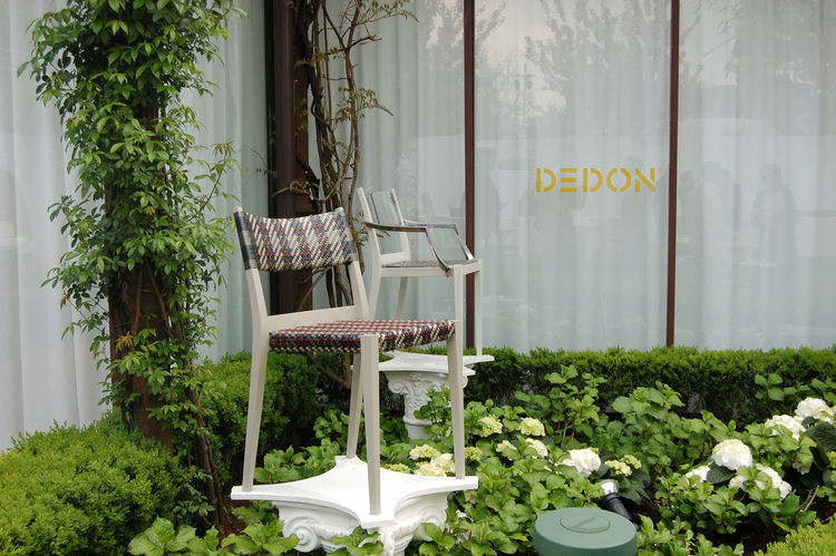 "One of the last stops of the day was <a href=http://www.dedon.de/en/home.html"">Dedon</a>, where Sam sat down to interview designer Philippe Starck about his new outdoor collection for the company."