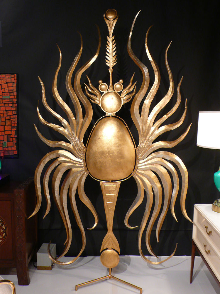 "At <a href=""http://www.fatchancemodern.com/search.php"">Fat Chance</a>, a six-foot-tall sculpture created by Tony Duquette in the 1990s from one of his 1970s brooch designs.<br /><br /><p><em><strong>Don't miss a word of Dwell! Download our </strong></em><"