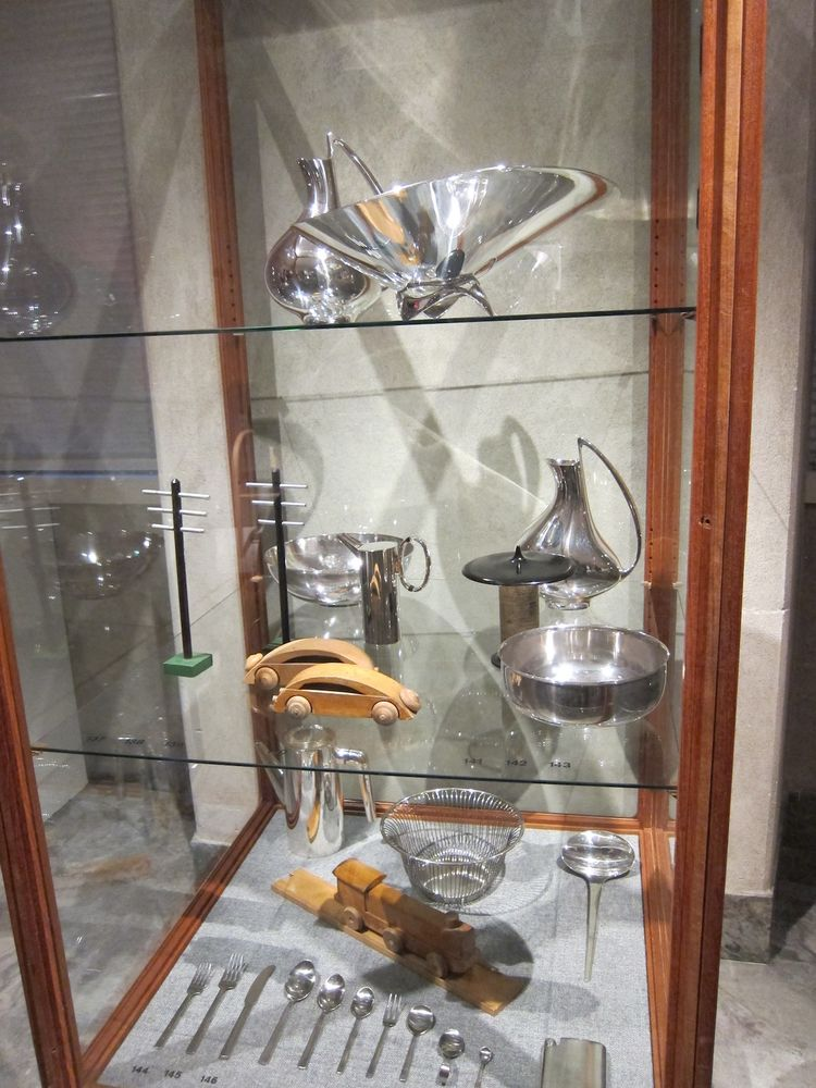 "The exhibition also encompasses fine silverware, including a jug by Georg Jensen and cutlery by Henning Koppel and Kay Bojesen.<br /><br /><p><em><strong>Don't miss a word of Dwell! Download our </strong></em><a href=""http://itunes.apple.com/us/app/dwell/"