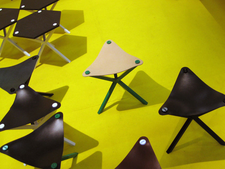 The Whistle stool is a relaxed piece with a little bit of attitude.