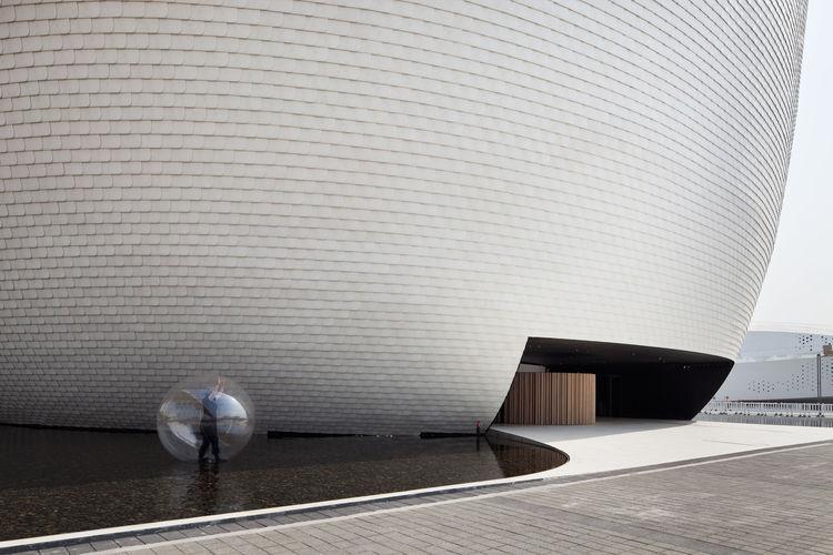 'Kirnu,' Finland's 2010 Shanghai Expo Pavilion designed by JKMM. Photo by Derryck Menere.