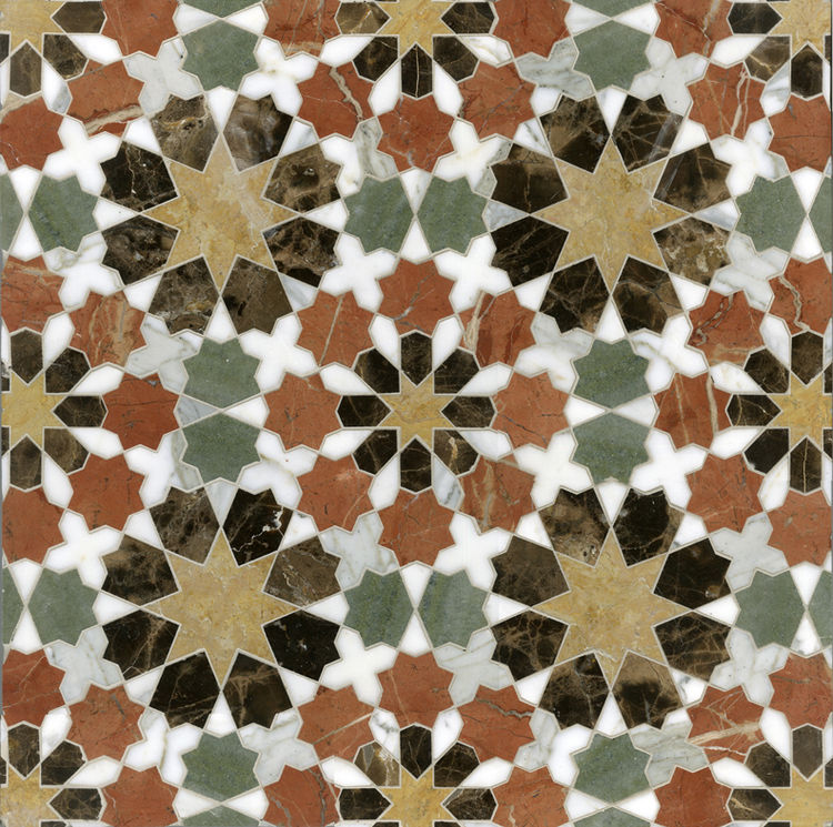 "San Diego–based interior designer Paul Schatz used New Ravenna's tile for his custom residential projects many times during his career (he's been working since the 1970s), but took the plunge into product design this year. ""Working with the New Ravenna te"