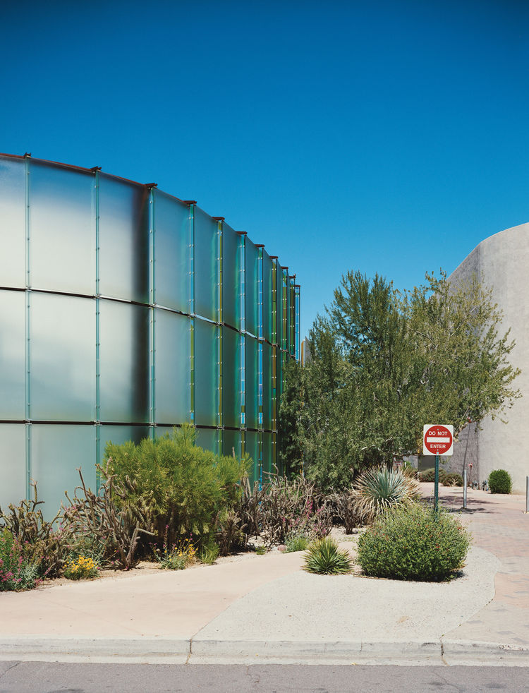 The Scottsdale Museum of Contemporary Art, known as SMoCA, is just one of Bruder's contributions to the Phoenix area's design catalog.