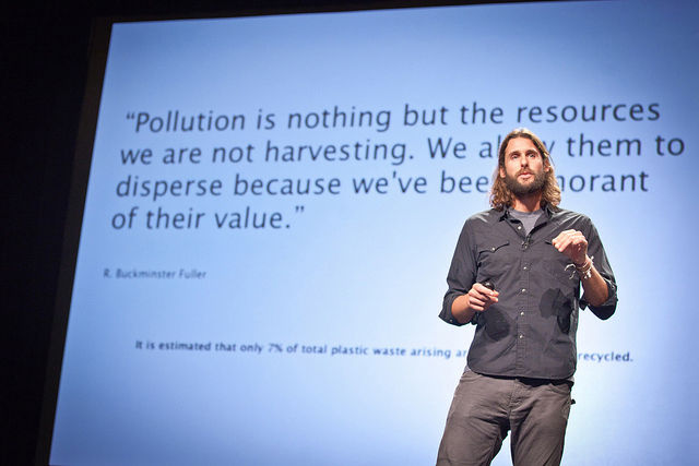 "David de Rothschild (yes, those Rothschilds) is an eco-adventurer and activist. Inspired by Buckminster Fuller and Thor Hyerdahl, de Rothschild designed <a href=""http://www.theplastiki.com/"">The Plastiki</a>, a boat made entirely of recycled materials; la"