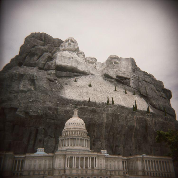 """Ernie Button, """"Mount Rushmore."""""""