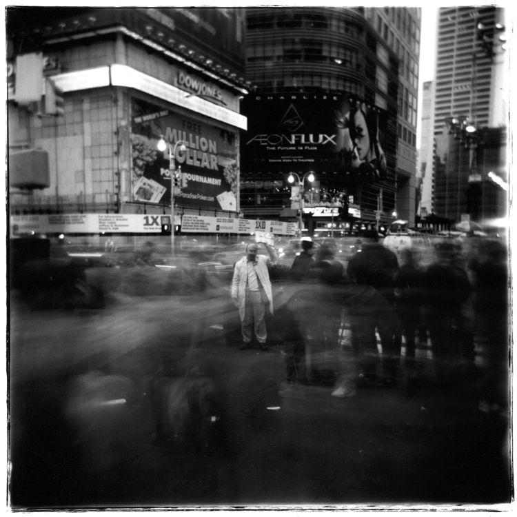 """Bob Gervais, """"Times Square Preacher."""""""