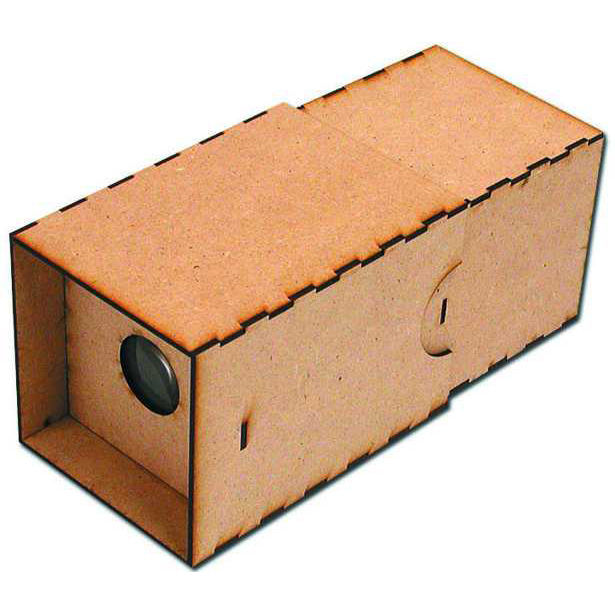 "<a href=""http://www.reformschoolrules.com/pc/cameraobscura/schoolsupplies/Camera+Obscura+Kit"">Camera Obscura Kit</a><br />We got these things at Christmas time and people just went nuts for them. The ancestor of all cameras, this hand-held camera obscura"