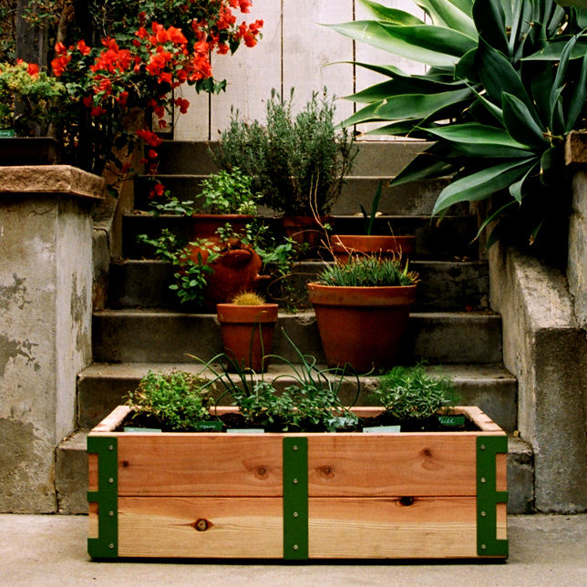 "<a href=""http://www.reformschoolrules.com/pc/srpatiokit/lostandfound/Patio+Garden+Kit+by+Scout+Regalia"">Patio Garden Kit by Scout Regalia</a><br />Our apartment dwelling neighbors finally have a design savvy solution to all of their gardening needs. Plus,"