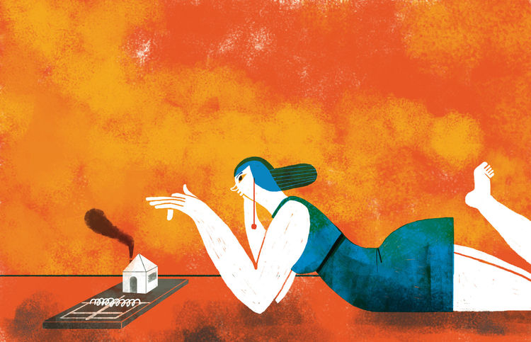 renting 101 adventures on craigslist illustration