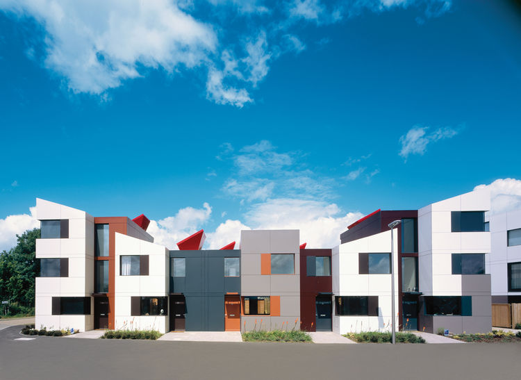 The houses at Oxley Woods, however, are a more modest case study in sustainable design and innovative construction.