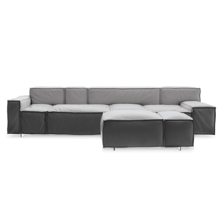 """The Boxplay Sofa by Rune Claesson Koivisto for <a href=""""http://www.swedese.se/news/boxplay/"""">Swedese</a>"""