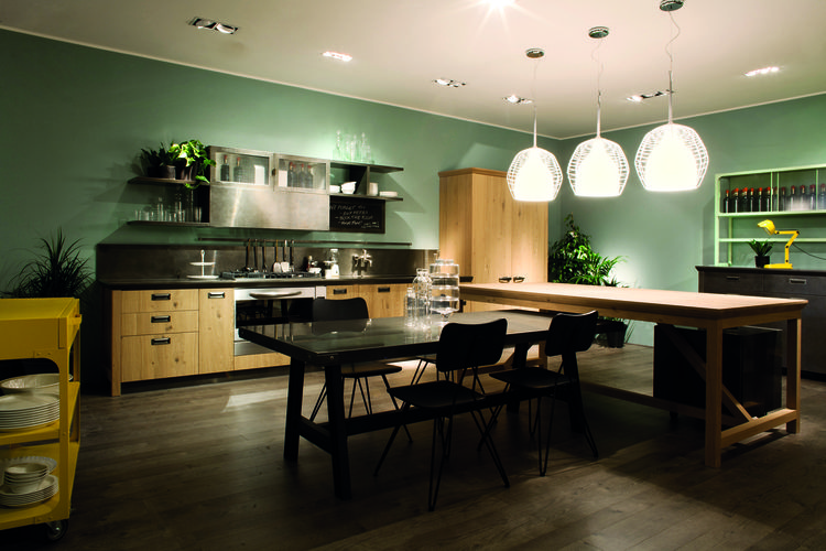 "Remember when Diesel jeans were all the rage? Well now our generation has a new ""must have"" Diesel item, the Diesel Social Kitchen. The new design collaboration between the <a href=""http://www.scavolini.com"">Scavolini</a> and the Italian fashion brand has"