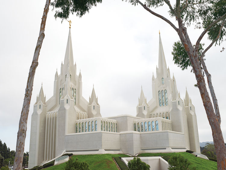 San Diego's main Mormon temple is an unusual building, but architect Aaron Anderson will take unusual over bland any day.