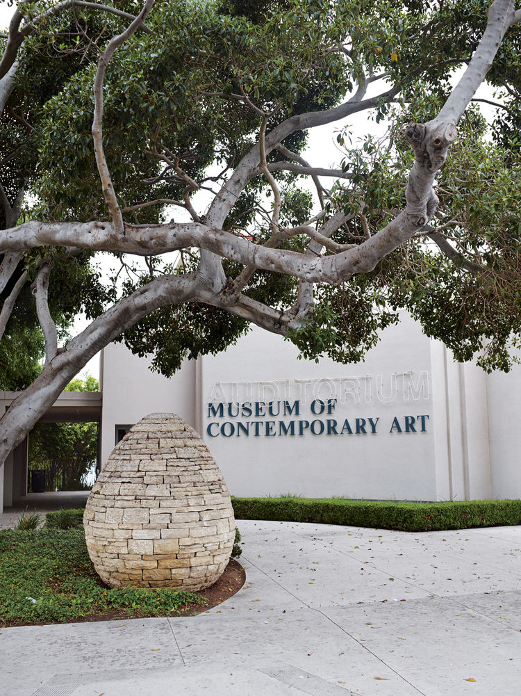 The Museum of Contemporary Art, which has two locations in the city: one carries work created since 1950 and is located in downtown San Diego, and the other, MCASD in Downtown, features site-specific installations by artists such as Jenny Holzer and Richa
