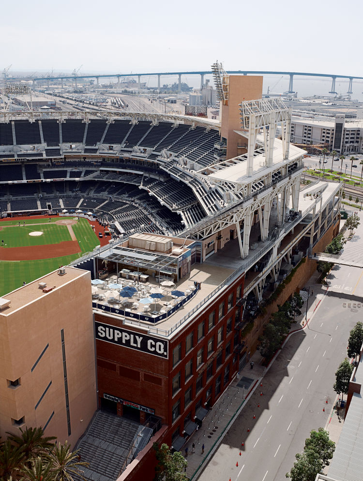 Petco Park, home to the San Diego Padres.