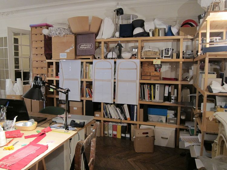 Another view of her studio.