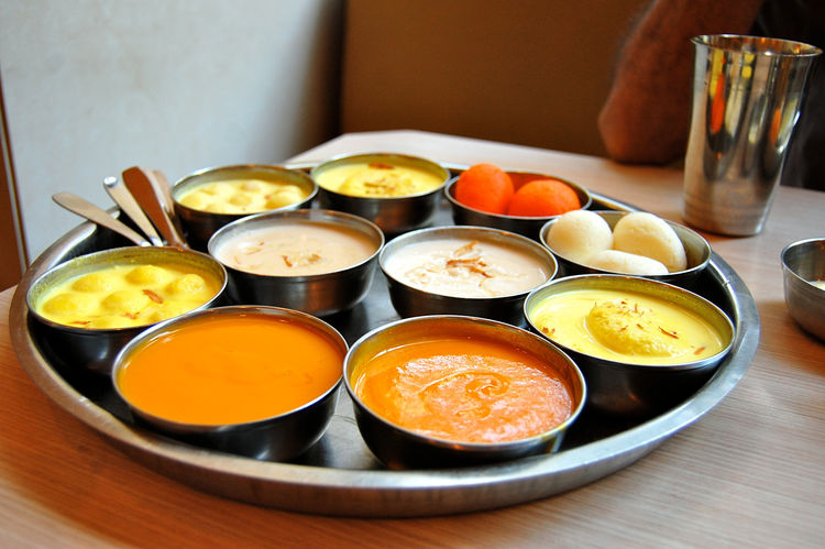 The food in India is spectacular. I loved hearing about cooking methods and traditions. And how could you not love a plate of desserts this beautiful?