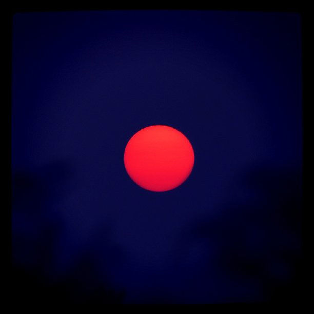 I searched #Japan and found a red-orange sun.