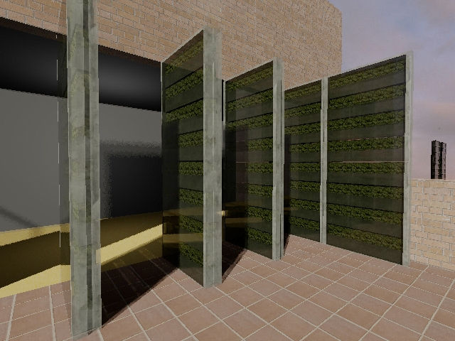 Garden Wall<br /><br /> Submitted by: Name not provided<br /><br /> Designer's Description: <br /><br />GARDEN WALL is for the nature lovers who wants to stay downtown. Each individual frame moves independent from the others, with the capacity of sliding
