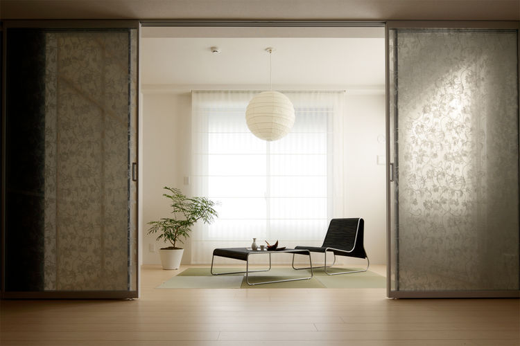 "Modern Shoji Screen<br /><br /> Submitted by: Name not provided<br /><br /> Designer's Description: <br /><br />The goal of ""Modern Shoji Screen"" is to create a light and flexible partition for making an airy modern interior space by applying an idea of t"