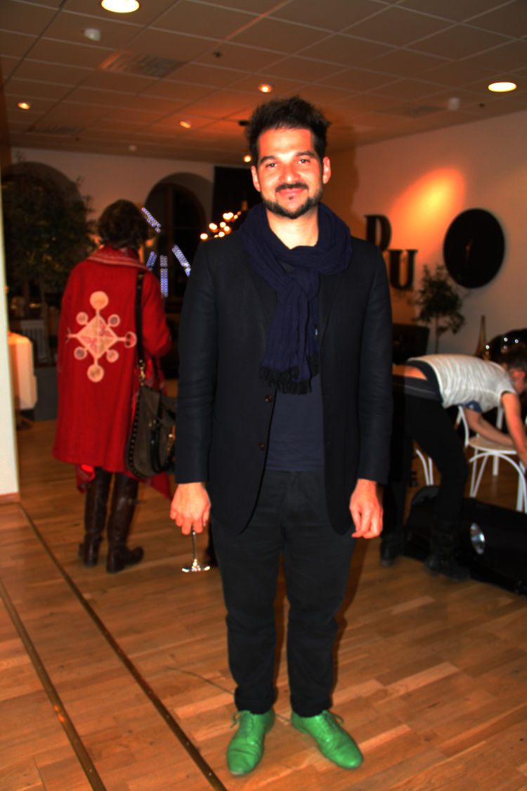 "We end with one of the guests of honor at the NK Inredning party, Spanish designer <a href=""http://www.hayonstudio.com/home.php"">Jaime Hayón</a>, who unveiled a whole slew of new items at the fair, including pieces for Fritz Hansen and Sé (sneak peek slid"